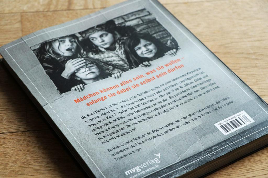 Rückseite Buch Wilde Mädchen von Kate T. Parker, mvgverlag