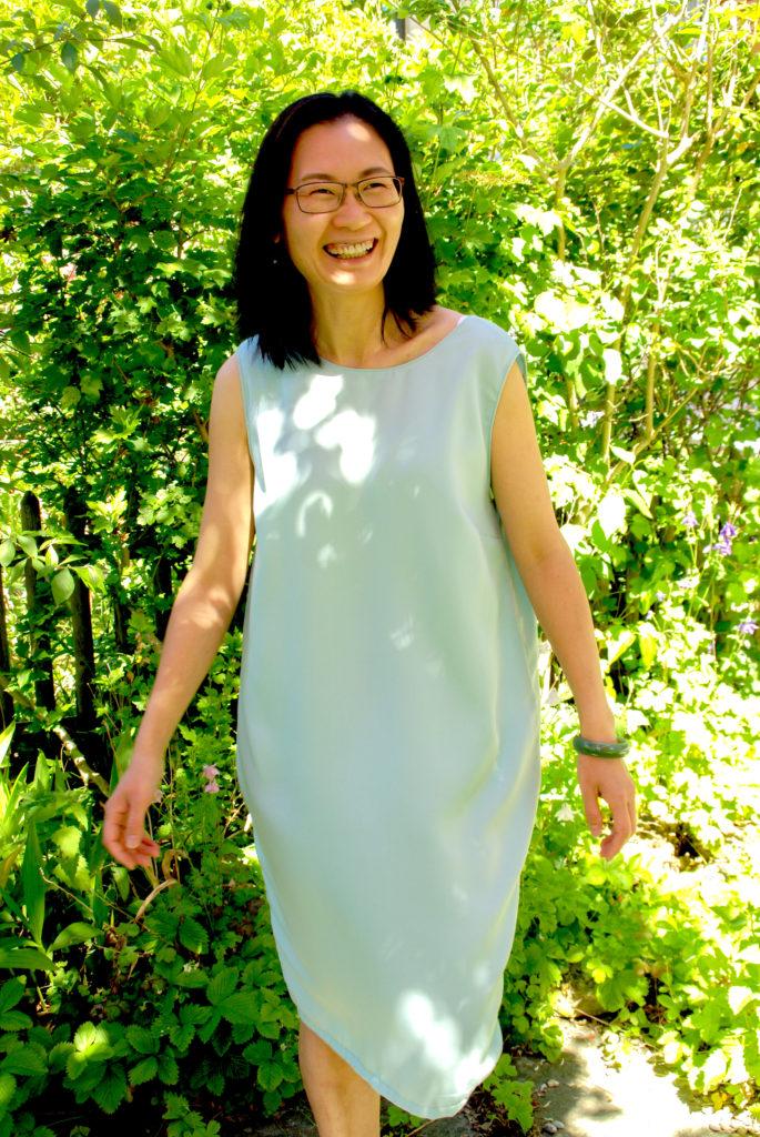 Sommerkleid aus Re-Woven Refibra Tencel selber nähen