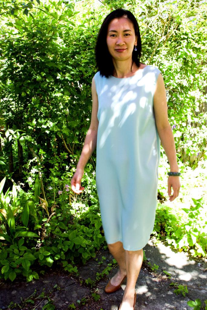 Sommerkleid aus Re-Woven Refibra Tencel