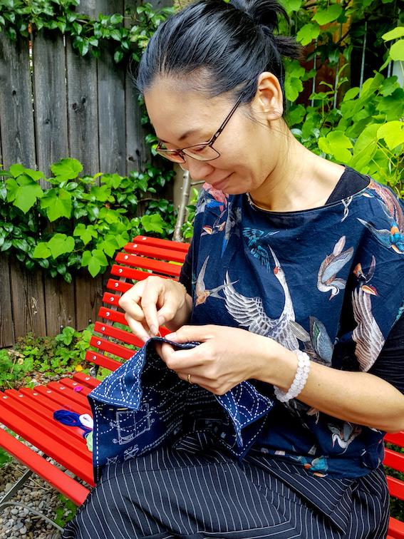 Sashiko Sticken