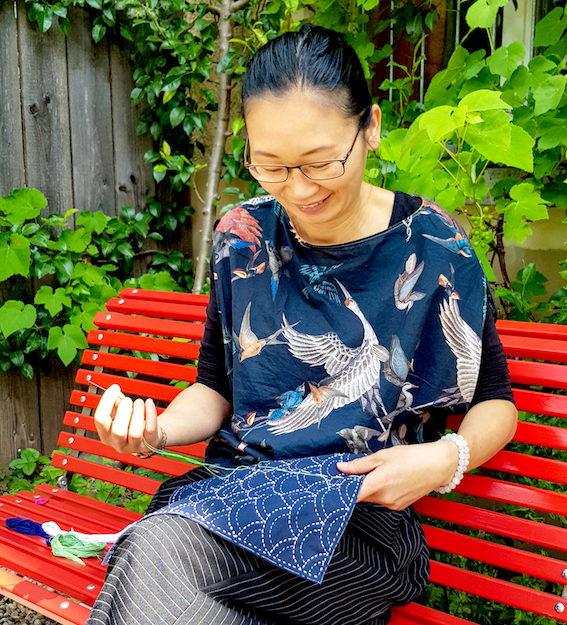 Sashiko - japanische Stickkunst